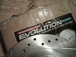 Power Stop ar8146xl xr Evolution Drilled & Slotted Performance Rear Rotors, Pair image 2