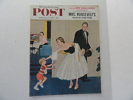 Saturday Evening Post Magazine Back Issue February 15 1958 Complete  2nd... - $6.99