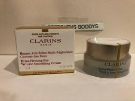 Clarins Extra-Firming Eye Wrinkle Smoothing Cream 0.5 oz NIB - $29.69