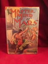 THE MASTER MIND OF MARS in McClurg Jacket by Edgar Rice Burroughs 1st ed. - $1,470.00