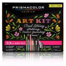 NEW 33ct Prismacolor Premier Special Edition Art Kit (Pencils Markers Sh... - $25.00
