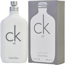 Ck All By Calvin Klein Edt Spray 3.4 Oz - $104.00