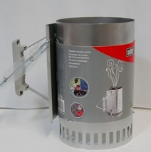 Weber 7416 Rapidfire Chimney Starter Aluminized Steel 12 Inches Tall image 1