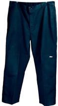 Men's Genuine Dickies  Loose Fit Double Knee Work Pants Black 38X32 New w/o Tags - $20.57