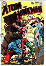 THE ATOM AND HAWKMAN #45 1969 - Joe Kubert art - Cool! FN- - $31.53