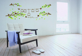 Family Photo Frame Tree With Branches Art Vinyl Removable Wall Decal Sticker - $8.05