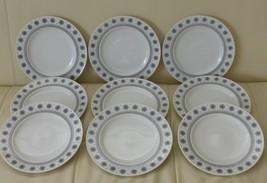 Rosenthal T API O Wirkkala Ice Blossom 1960S Salad Plates Set Of 9 - $99.00