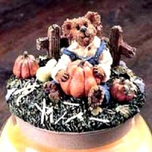 """Boyds Candle Topper """"Jack McVine..Pick Of The Patch"""" #651204 - Resin~ New - $24.99"""