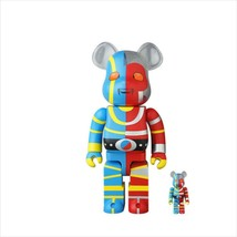 BE@RBRICK 400% & 100% Android Kikaider Medicom Toy Figure - $200.99