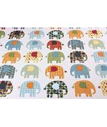 [Elephant] 1.5M Wide Handmade Cotton Canvas Stripe Fabric (2x1.5M) - $38.60