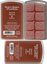 Better Homes and Gardens - White Peach and Daisy 3.5oz Scented Wax Cubes 3-Pack - $24.01