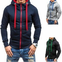 Mens Casual Hoodies Coat (M/L/XL/XXL) - $38.76
