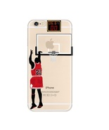 "FCM Sports Phone Cases ""Last shot"" Basketball Clear TPU iPhone Case - $19.98"
