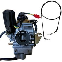 Zoom Zoom Parts 26mm Carburetor Throttle Cable for GY6 150 150cc Scooter... - $39.00