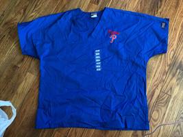 Cherokee Workwear Scrub Top Medium Phillies - $24.74