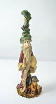 "Vintage Boyds Folkstone #2801 Niki w/ Candle Santa Gnome Bear 8"" Christmas 1994 - $24.99"