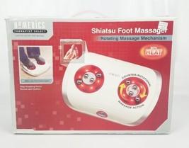 Homedics Shiatsu Foot Massager Rotating Therapist Massage Mechanism With... - $36.84