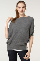 $235+ NEW Vince 100% Cashmere Gray Sweater Sz M - $2.978,73 MXN