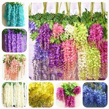 Super 10 Seeds 7 Kinds Wisteria Flowering Plants Colorful Garden Plants - $2.10