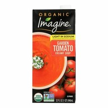 Imagine Foods Garden Tomato Soup - Low Sodium - Case Of 12 - 32 Fl Oz. - $81.97