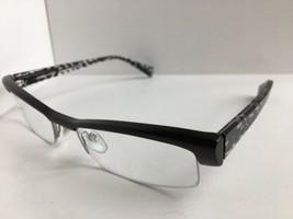 New ALAIN MIKLI A 0666 09 54mm Matte Black  Semi-Rimless Eyeglasses Frame - $314.99