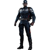 NEW Movie Masterpiece CAPTAIN AMERICA STEALTH SUIT Ver 1/6 Figure Hot Toys - $412.31