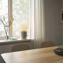 SYMFONISK Table lamp with WiFi speaker, white image 3