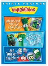 Triple Feature Vol 2 (Where's God/God Wants / Neighbor) by Veggie Tales