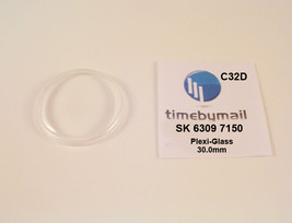 New Watch Crystal For SEIKO 5  6309 7150 Automatic Plexi-Glass Spare Par... - $19.35