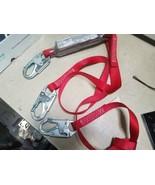 X8 LOT Protecta 1342001 Shock Absorbing Lanyard Snap Hook 2 Leg Polyeste... - $142.49