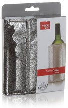 Vacu Vin Rapid Ice Wine Cooler - Silver - $11.99