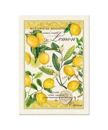Michel Design Works Lemon Basil Kitchen Towel - $16.00