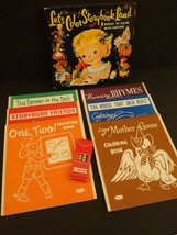 All Original WHITMAN Let's Color Storybook Land 1956 Mint + Box - $45.00