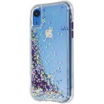 Case-Mate Waterfall Glow Series Case for Apple iPhone XR - Clear / Purpl... - $8.85