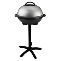 George Foreman 15-Serving Indoor/Outdoor Electric Grill, Silver, GGR50B - $138.29