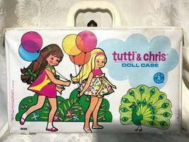 1965 Rare Barbie Tutti Chris Doll Case Mattel w Balloons  - $49.99