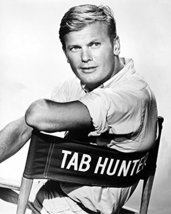 Tab Hunter 16X20 Canvas Giclee In Directors Chair - $69.99