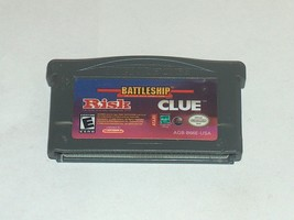 Risk/ Battleship / Clue Nintendo Game Boy Advance, 2005 U. S. A - $5.92