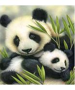 5D DIY Diamond Paitings Panda Cross Stitch Crafts Cute Diamond Painting ... - $15.00