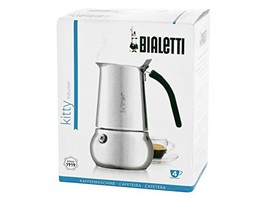 Bialetti Kitty Coffee Maker, Stainless Steel (4 Cups) - $65.54