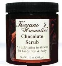 Keyano Aromatics Chocolate Exfoliating Body Scrub 10 oz - $24.00