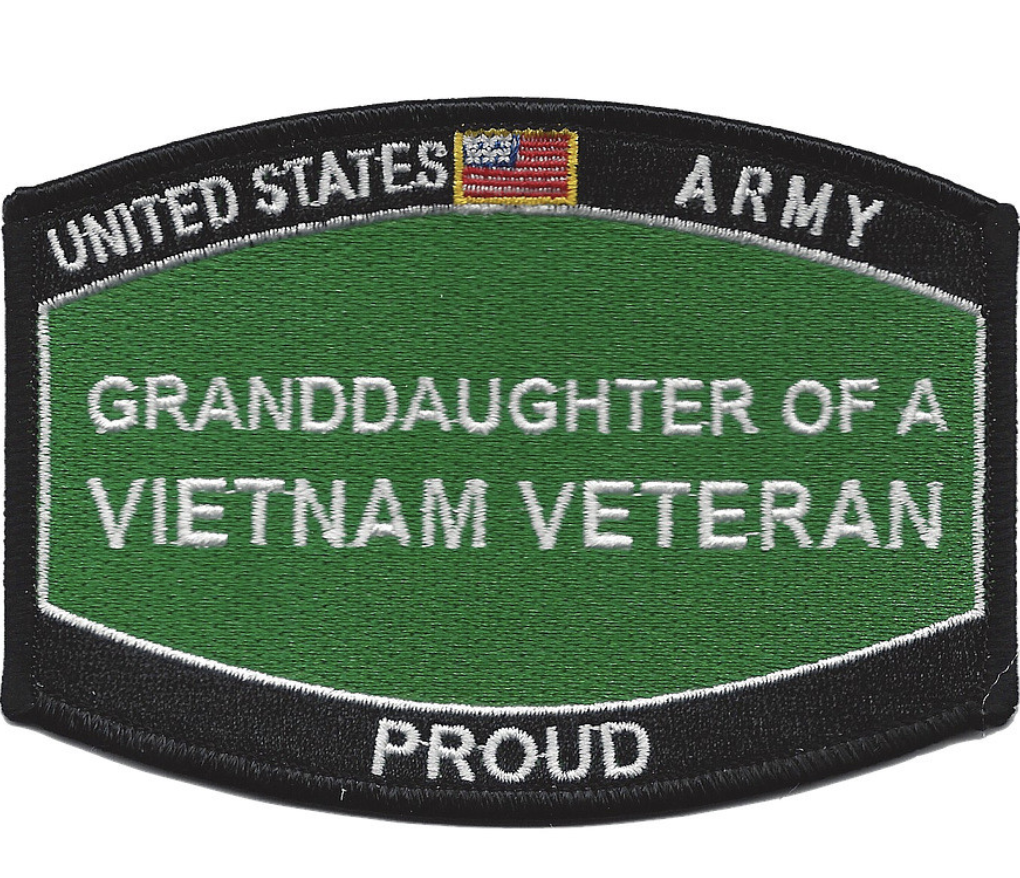 ** VIETNAM VETERAN ** Military Vietnam Veteran Biker Patch ... |Vietnam Veteran Patches And Badges
