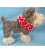 Pet Ruffle Collar Dog Cat Christmas Holiday Small Handmade Crochet by Bren - $17.00