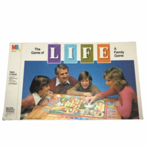 The Game of Life Family Board Game Milton Bradley Vintage 1981 COMPLETE ... - $59.35