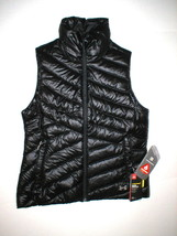 New Womens Under Armour Vest M Black Down Warm Puff Infrared Storm NWT W... - $79.60
