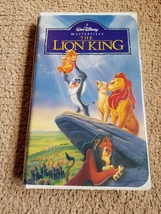 Walt Disney's The Lion King Masterpiece collection VHS tape - $45.00