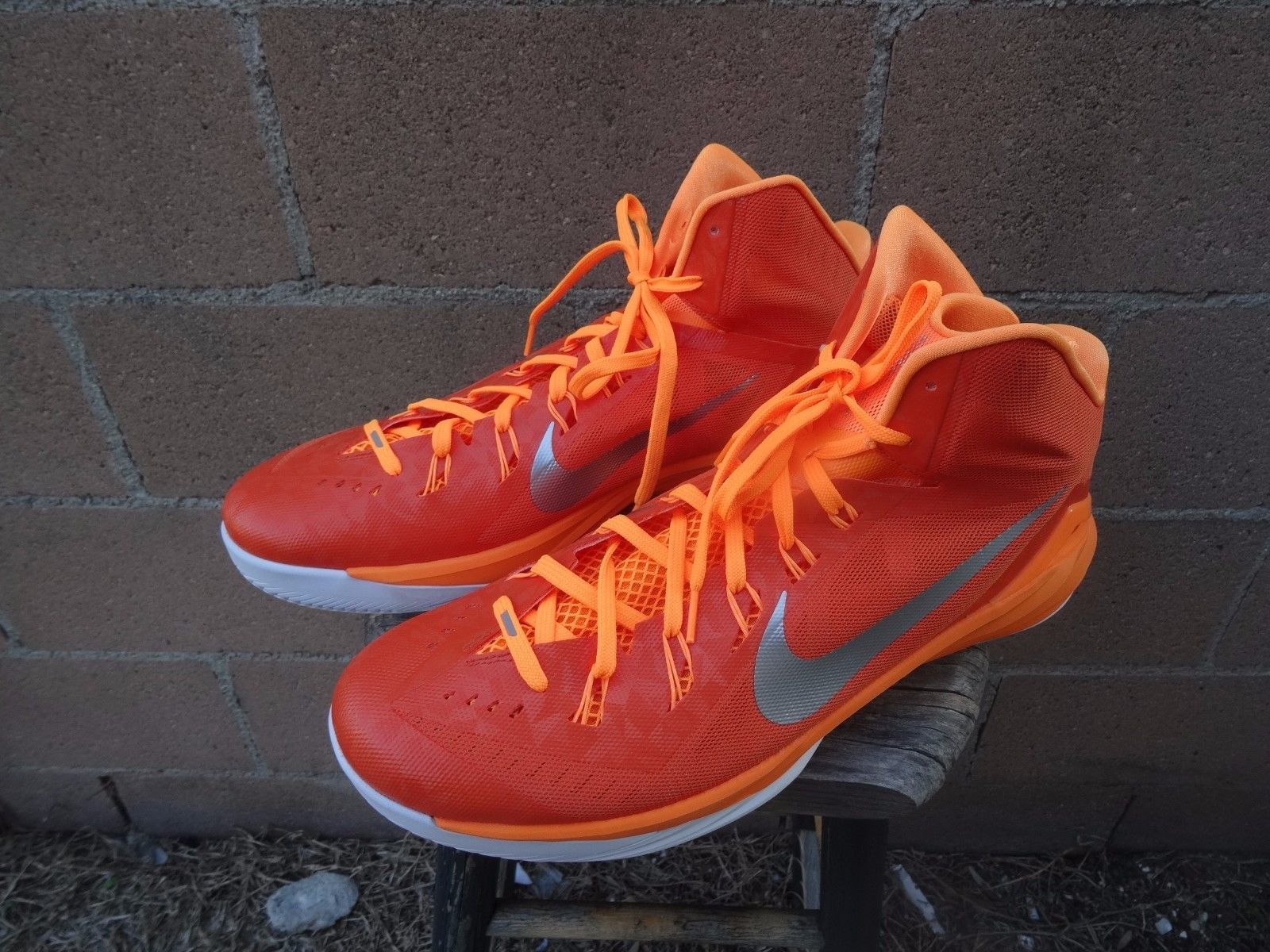 71a625b64826 ... spain nike hyperdunk 2014 653483 808 mens orange silver white size 18  44d64 165e3
