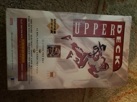 1994 upper deck football unopened wax box - $32.99