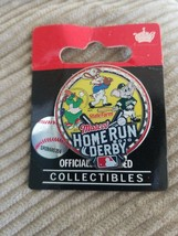 2010 Mascot MLB Home Run Derby Pin Lapel Badge for Hat Shirt State Farm NEW - $11.64