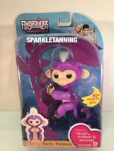 WOWWEE FINGERLINGS INTERACTIVE BABY MONKEY TOY MIA IN HAND! READY TO SHI... - $22.95